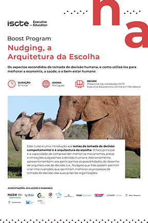 Nudging, a arquitetura da escolha mini brochura