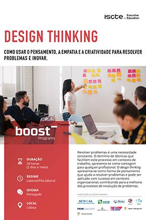 design thinking mini brochura