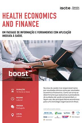 health economics and Finance mini brochura