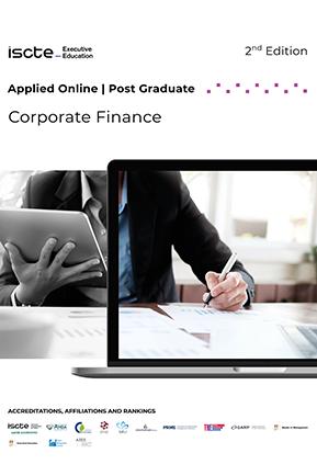 applied online in Corporate Finance mini brochura